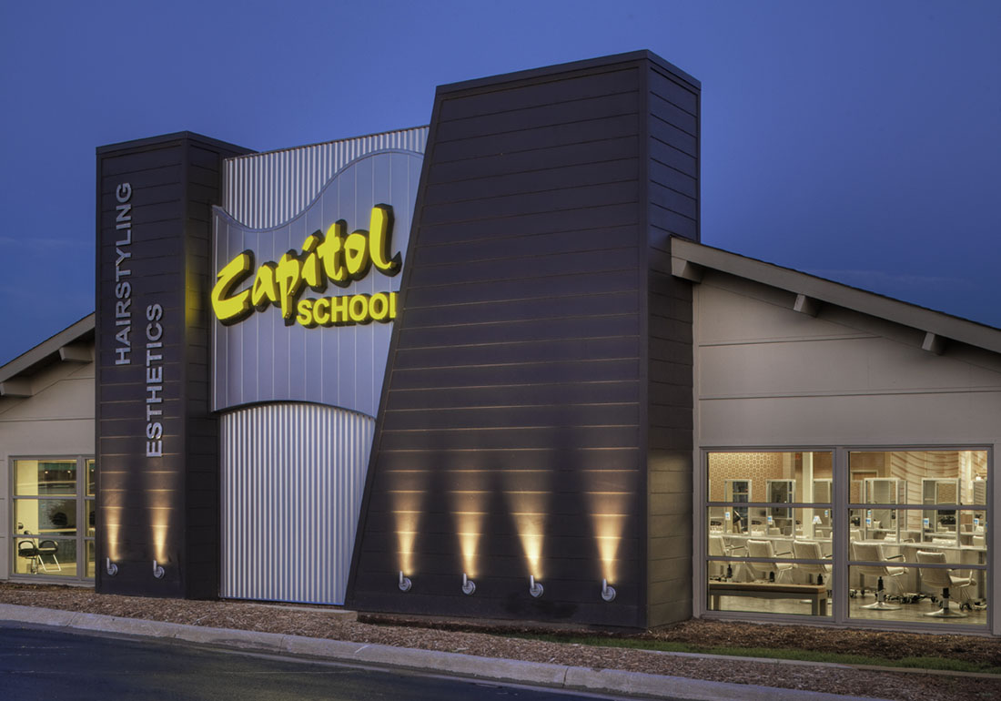 Capitol School of Hairstyling and Esthetics – avant architects